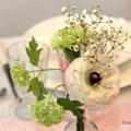 Kommunion Maedchen Tischdeko rosa