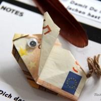 10 Geldgeschenk Ideen zum Nachbasteln