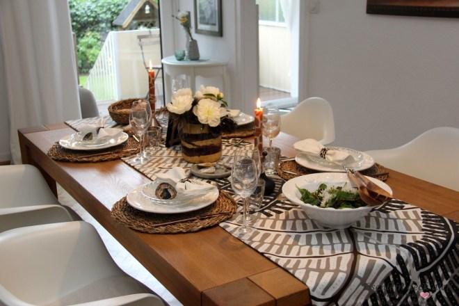 Eine Afrikanische Tischdekoration Und Unsere Liebe Zu Südafrika Tischlein Deck Dich