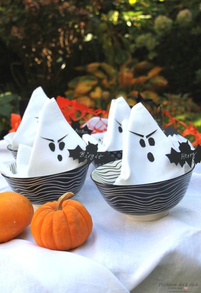 Das Geht Fix No 19 Happy Halloween Gespenster Servietten