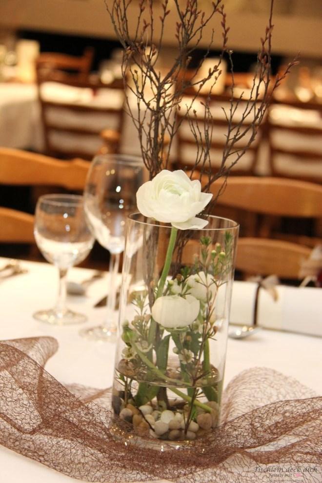 Blumendekoration zum 70. Geburtstag