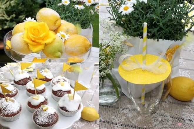 Zitronenfest - Deko mit Zitronen
