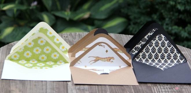 Drei Ideen zur Briefumschlaggestaltung