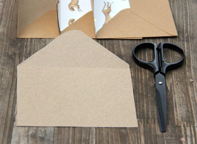 DIY Briefumschlaege gestalten