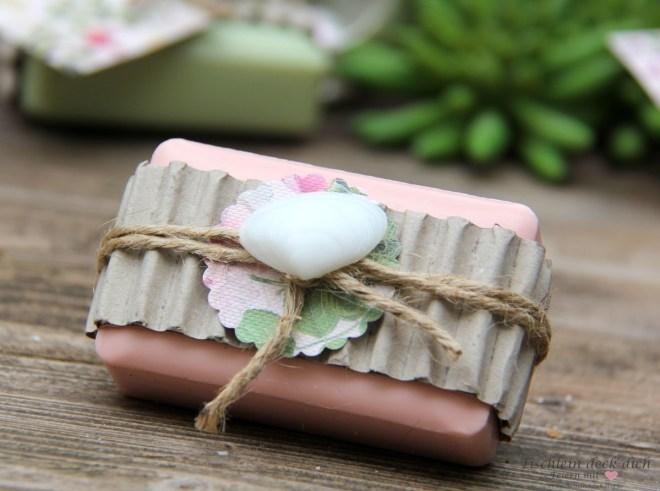 Geschenkidee Seife hübsch verpackt