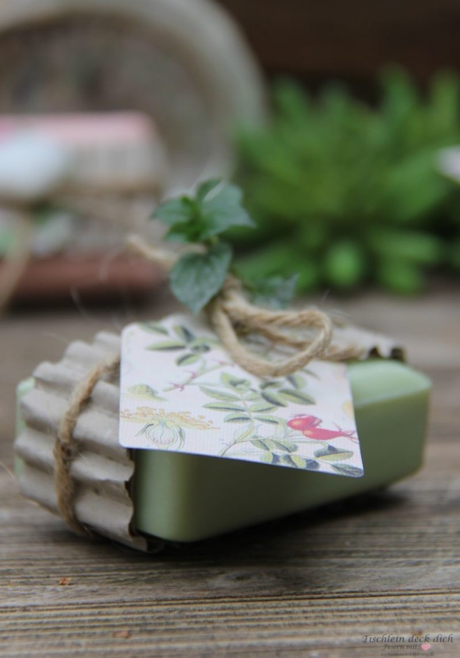 Geschenkidee Seife nachhaltig verpackt