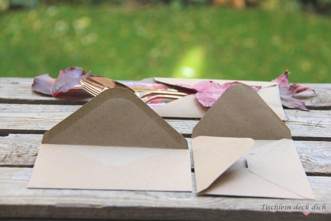 basteln mit Briefumschlägen
