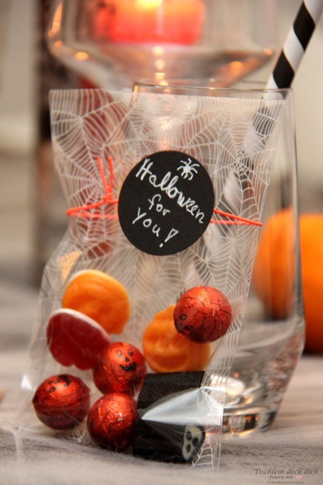 Halloween Gastgeschenk