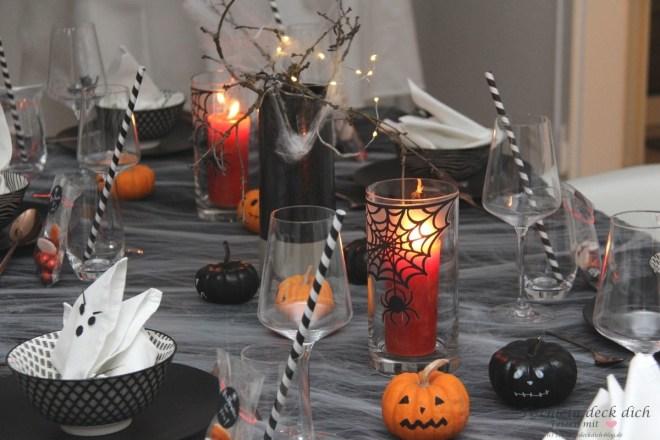 Halloween-Tischdeko-Idee