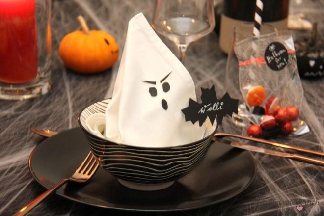 Halloween-Tischdeko-Idee-Servietten