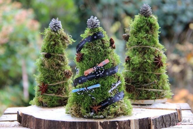Geldschein-Tannenbaum DIY