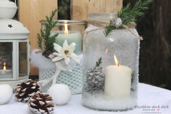 Glaeser-winterlich-dekorieren