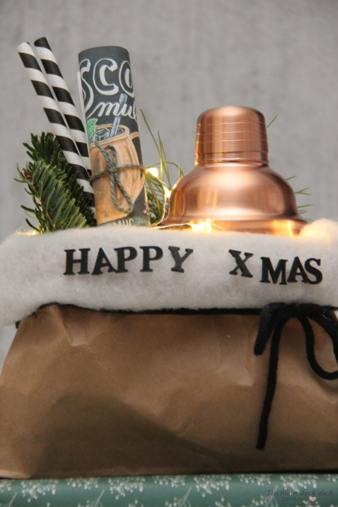 X-MAS Geschenkverpackung