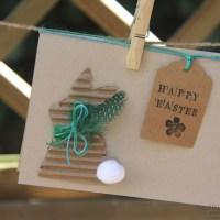 DIY Osterkarten - beim Basteln auf andere Gedanken kommen