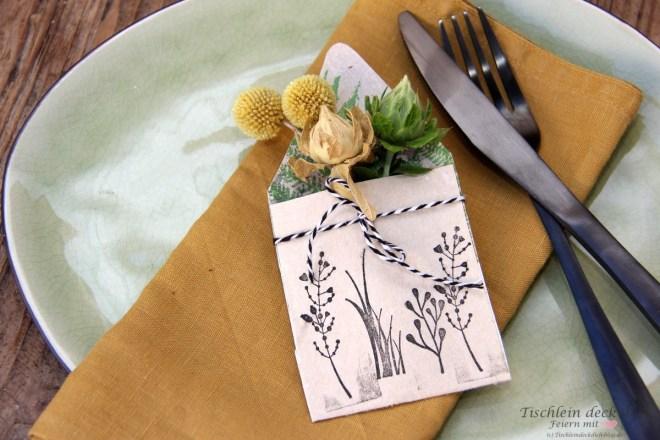 Mini-Briefumschläge aus Tetrapak