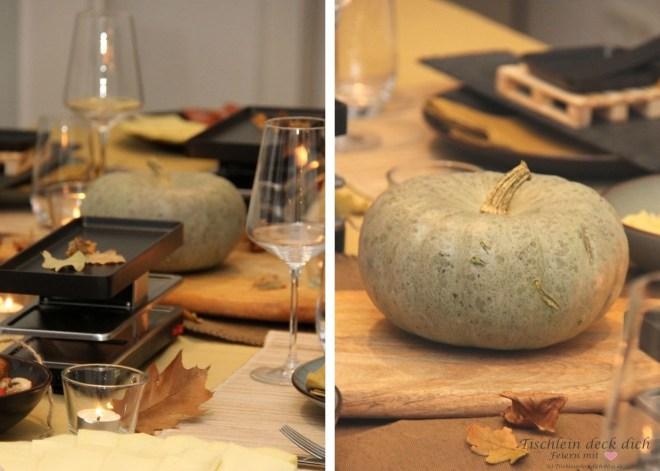 #stay home ein gemütlicher Racletteabend im Herbst