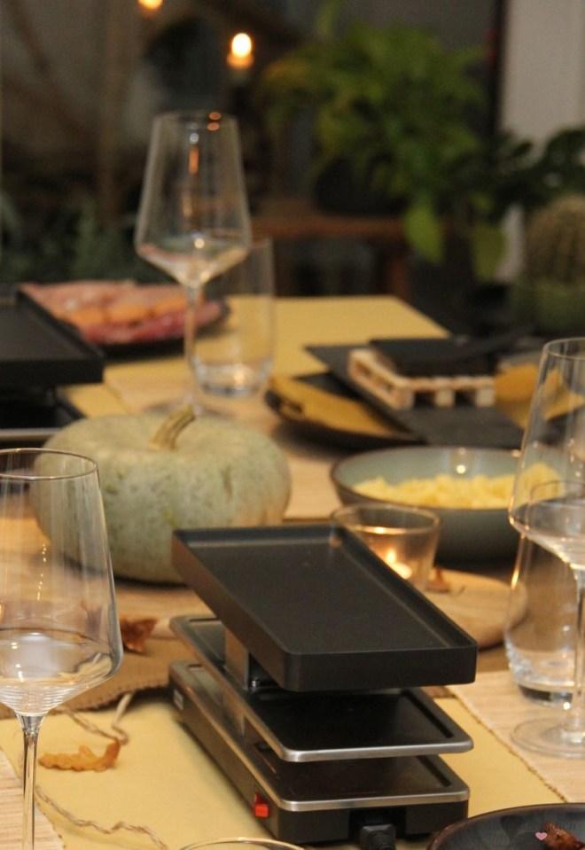 #stayhome gemütlicher Racletteabend im Herbst