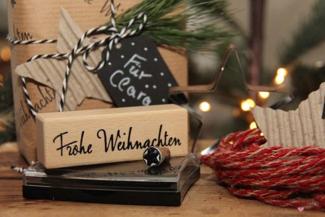 Weihnachtsstempel Frohe Weihnachten