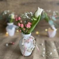 Basteln mit Gips - neuer Look für alte Vasen - Das geht fix No. 78