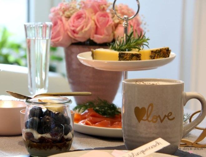 Frühstück am Valentinstag
