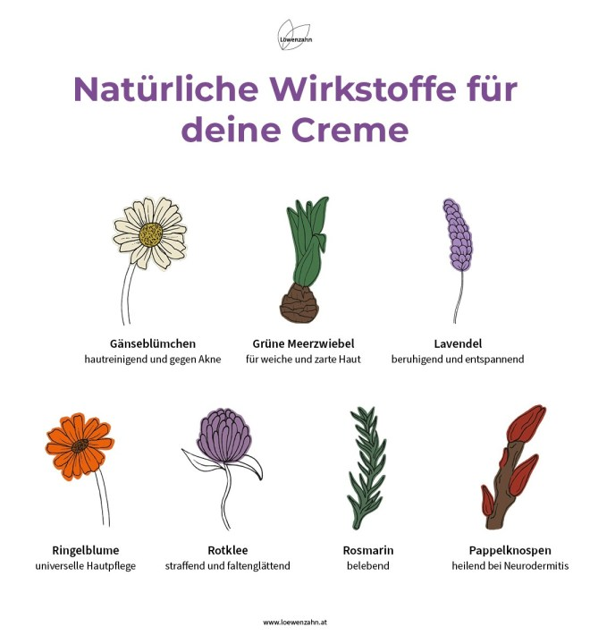 Wirkstoffe Lavendelcreme