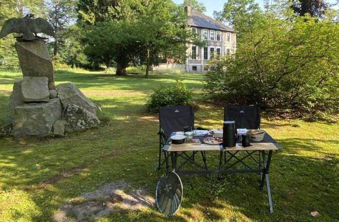 Camping Frühstück am Klostergut Burgsittensen