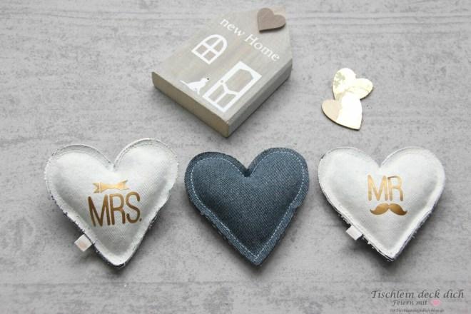 Herzen Mrs. und Mr.