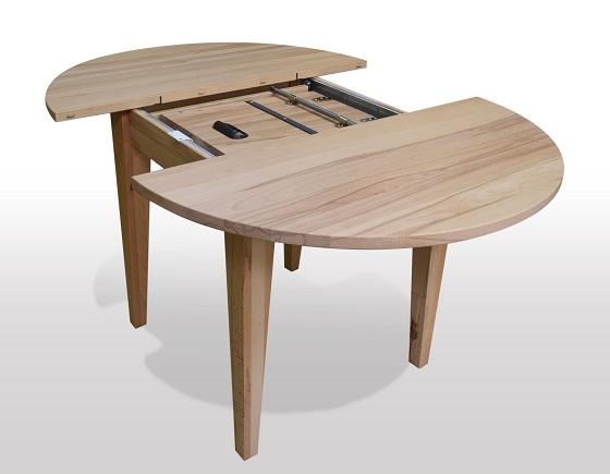 Runder Tisch online kaufen  Holztische  Esszimmertische rund zum Ausziehen