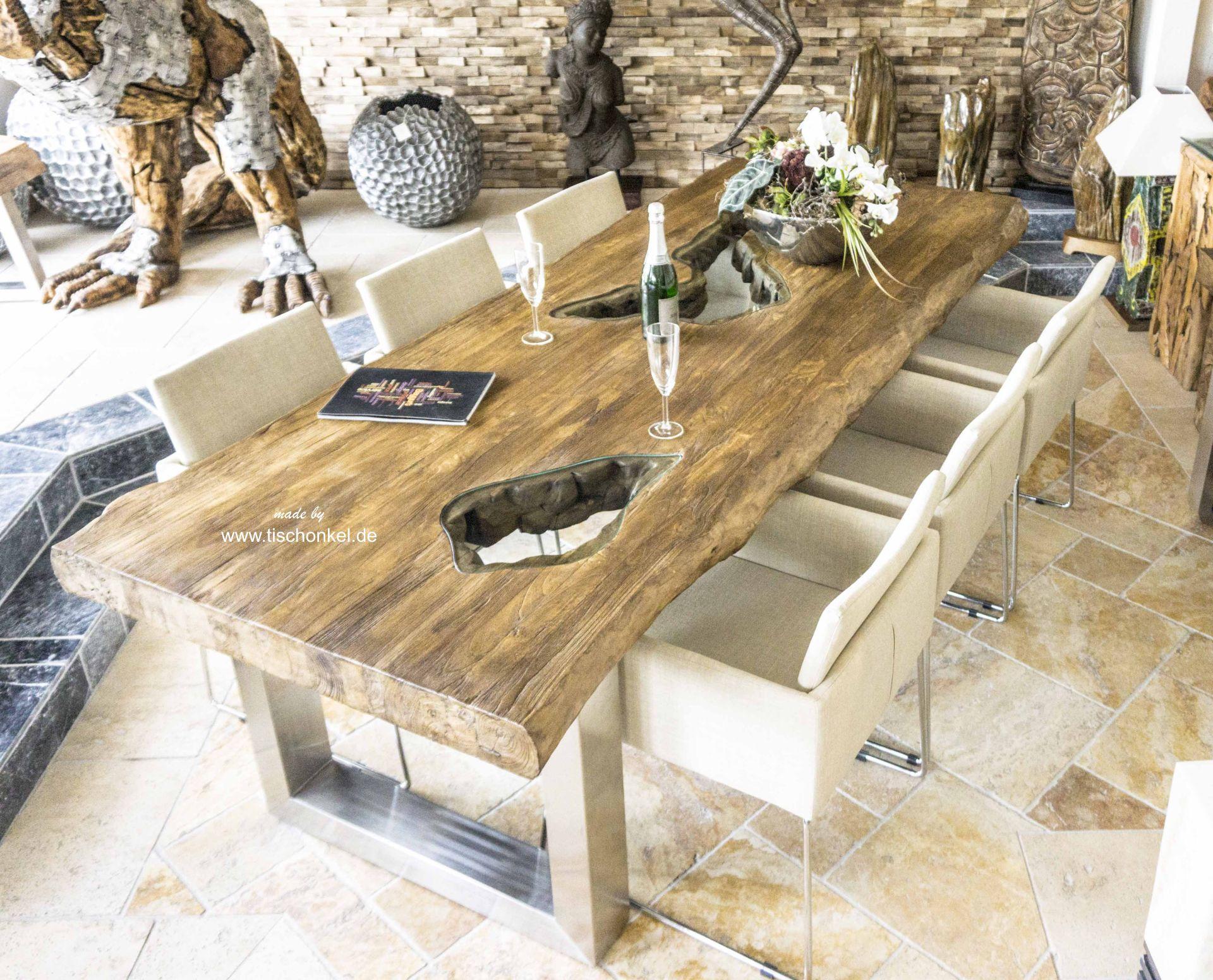 Esszimmertisch 200 x 100 cm Der Tischonkel