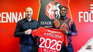 Kamaldeen Sulemana s'engage avec le Stade Rennais