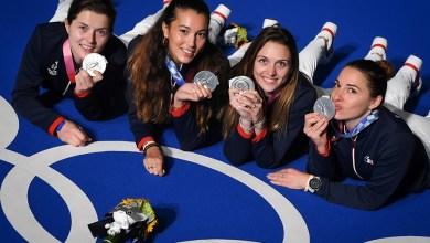 Sabre : l'équipe de France médaillée d'argent