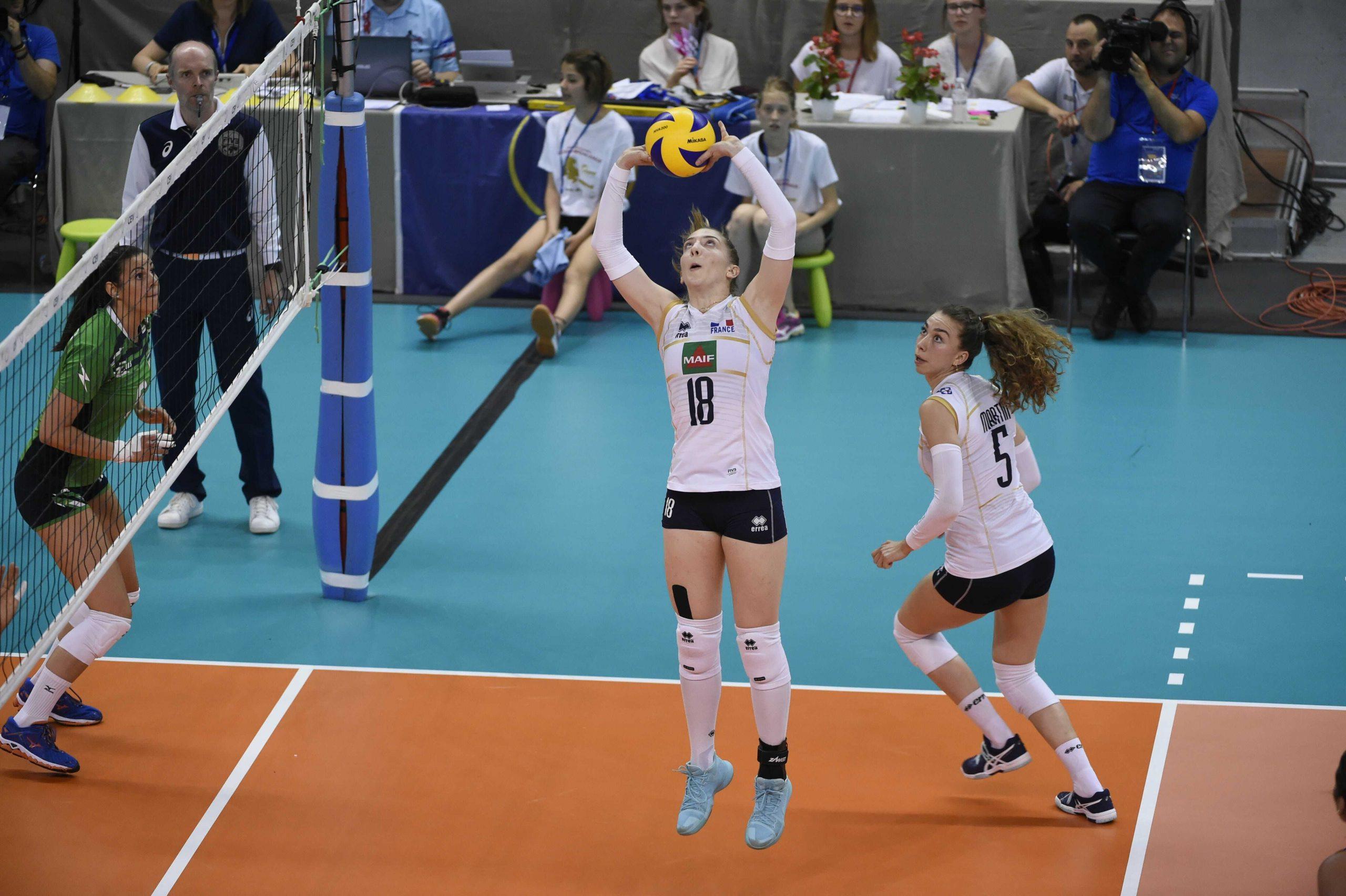 Volley : La France s'incline contre la Russie