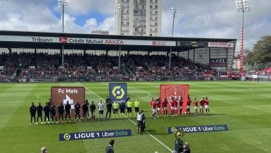 Ligue 1 : Le Stade Brestois s'incline face à Metz