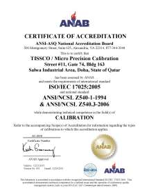 Qatar Experience Certificates - Year of Clean Water