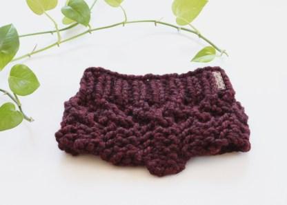 Cache -cou en grosse laine TisseTriko