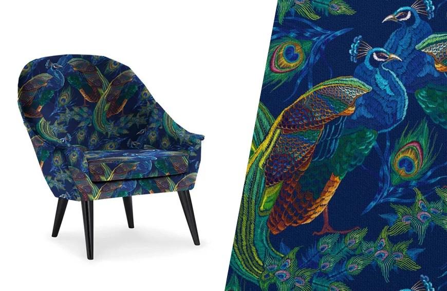 quel tissu pour recouvrir une chaise
