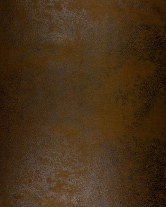 simili cuir vieilli marron tissushop