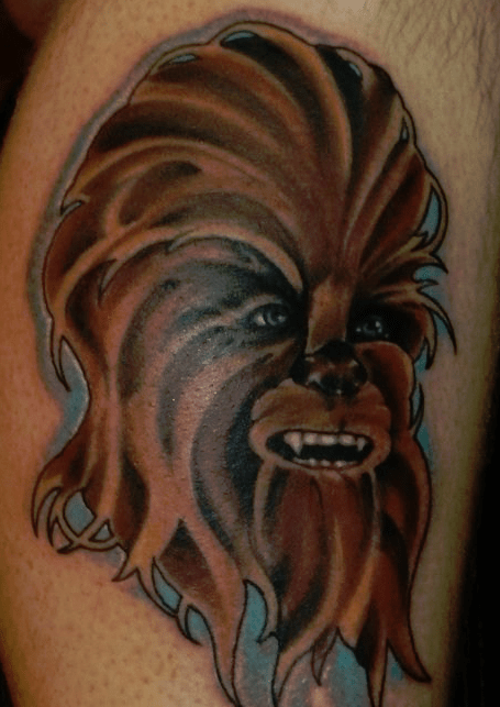 chewbecca tattoo