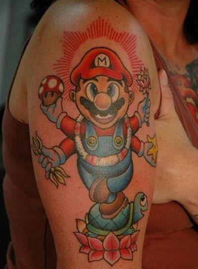 smario tattoo