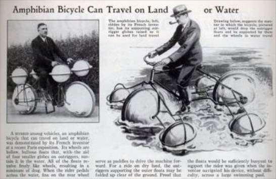 Bicicletta anfibia