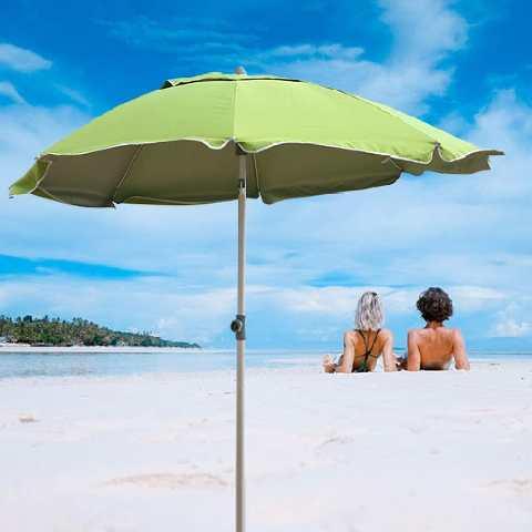 Dotato anche di soffietto antivento per resistere anche alle giornate più ventose. Migliori Ombrelloni Da Spiaggia 2021 Antivento Per L Estate