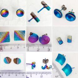 A: Titanium oorbellen