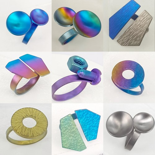 3 Titanium Ringen