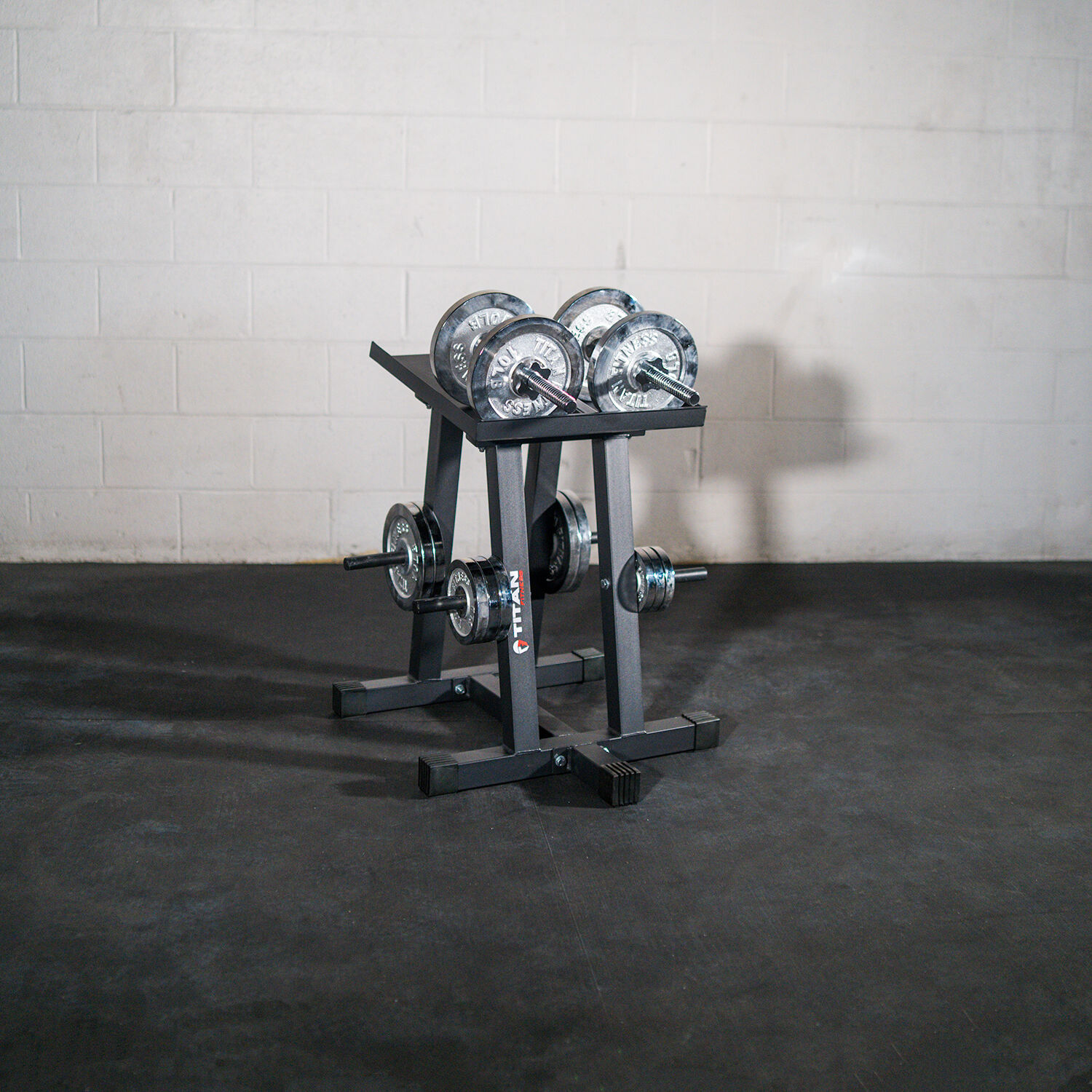 dumbbell stand and plate tree power