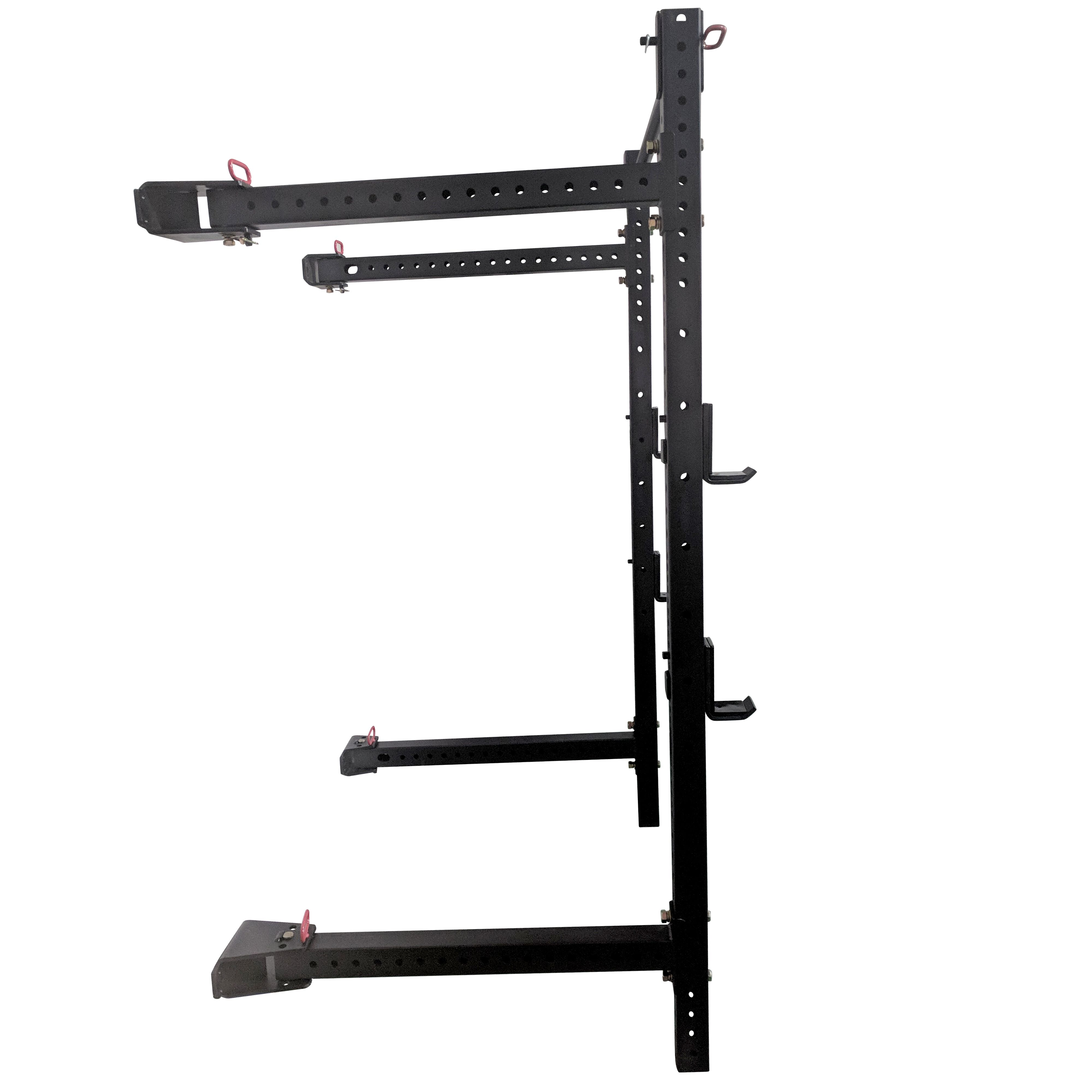 power cages titan 41 fold back wall mounted x 3 power rack sports outdoors sports fitness sports outdoors