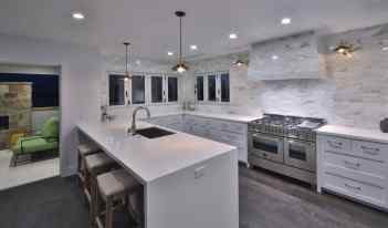 716 12th - Kitchen at night