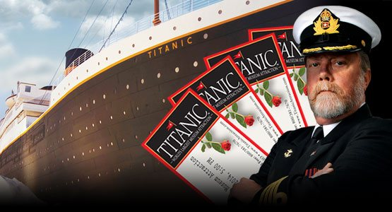 Click here to order your Titanic Branson tickets.