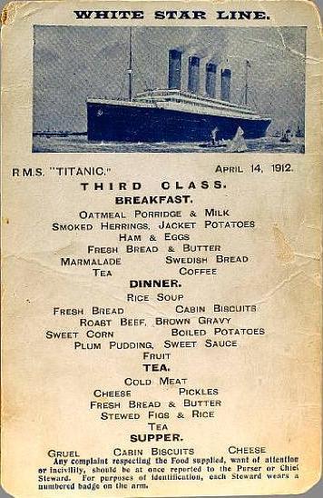 Lultima cena sul TITANIC