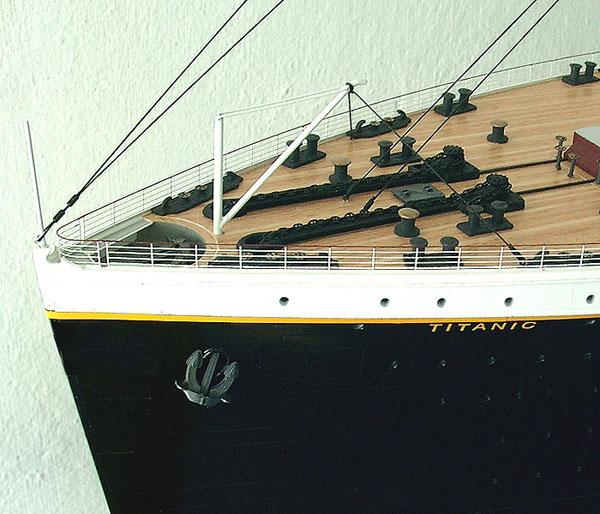 Titanic Modell 1144  Titanicmodell