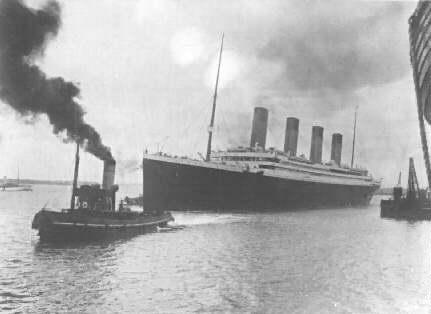 titanic 1st